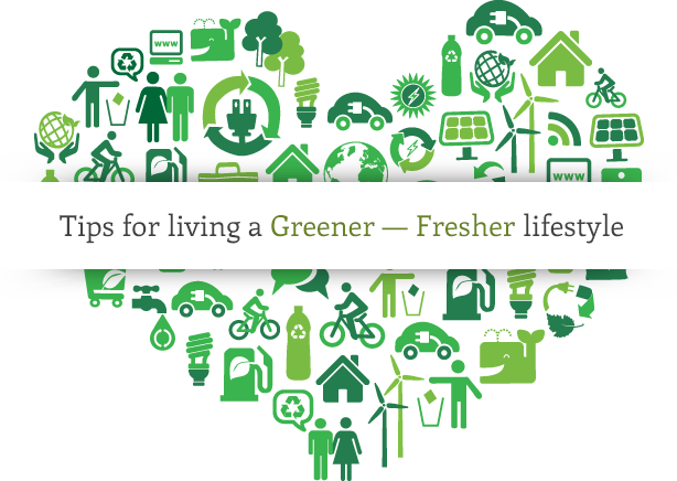 Tips Greener Lifestyle