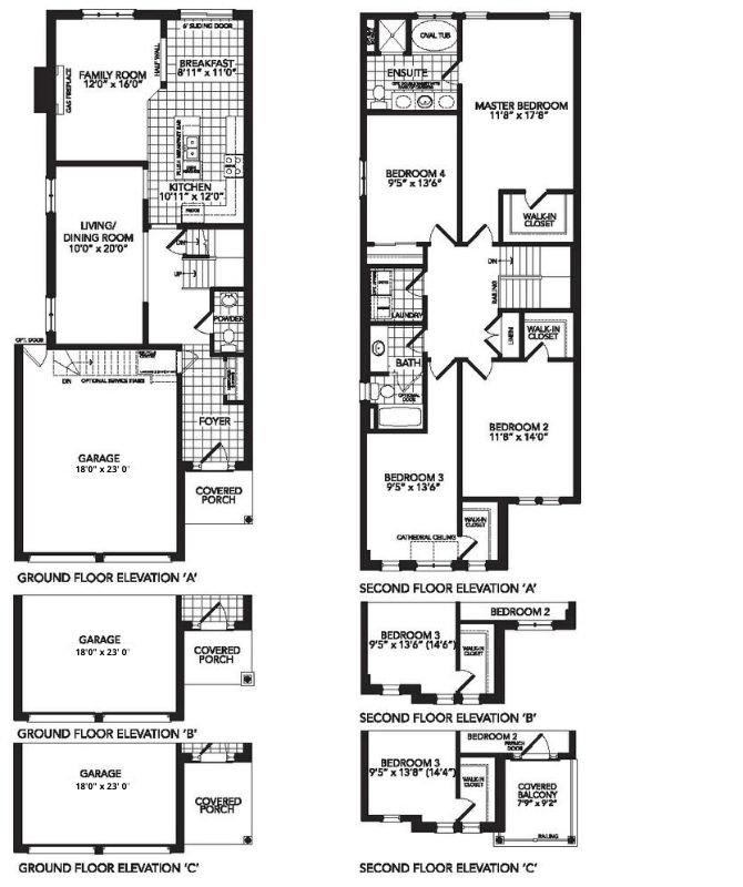Sauble Beach II Floor Plan