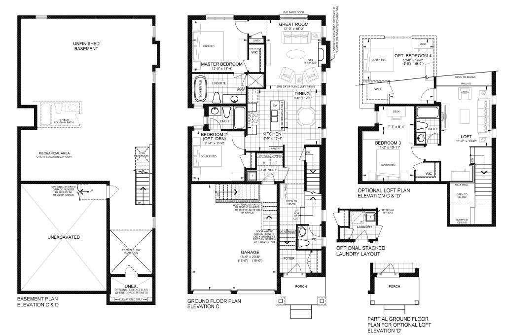 Cherry Beach_Floor plan LOFT