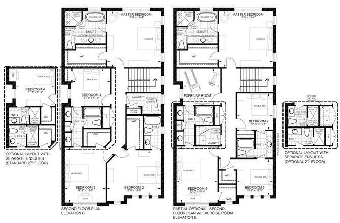 Elev B Floorplan