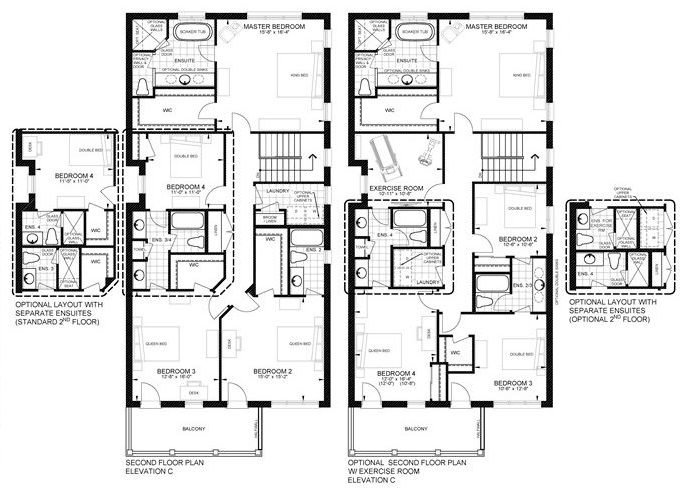 Elev C Floorplan