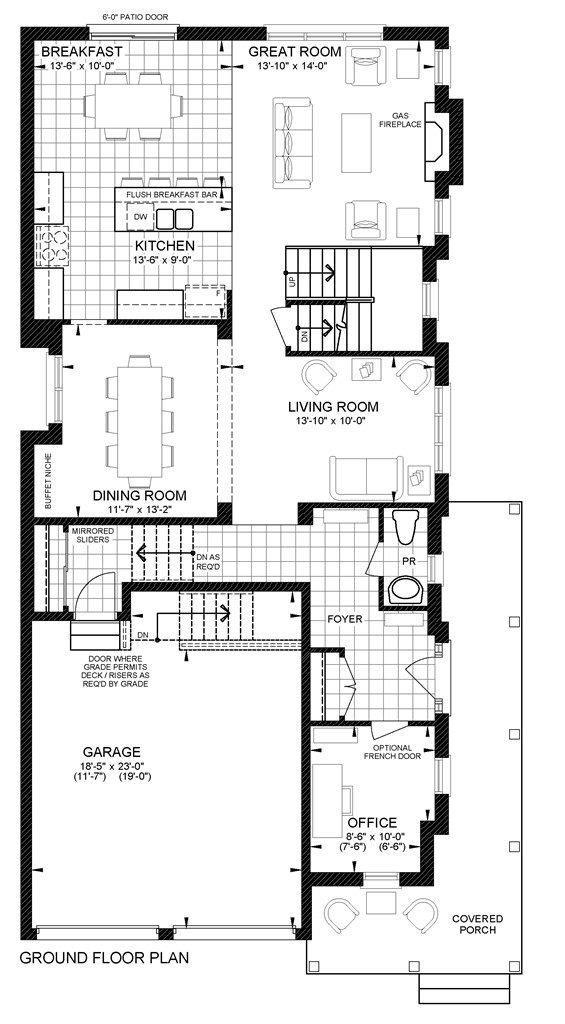 Silver Beach Ground Floor Plan B